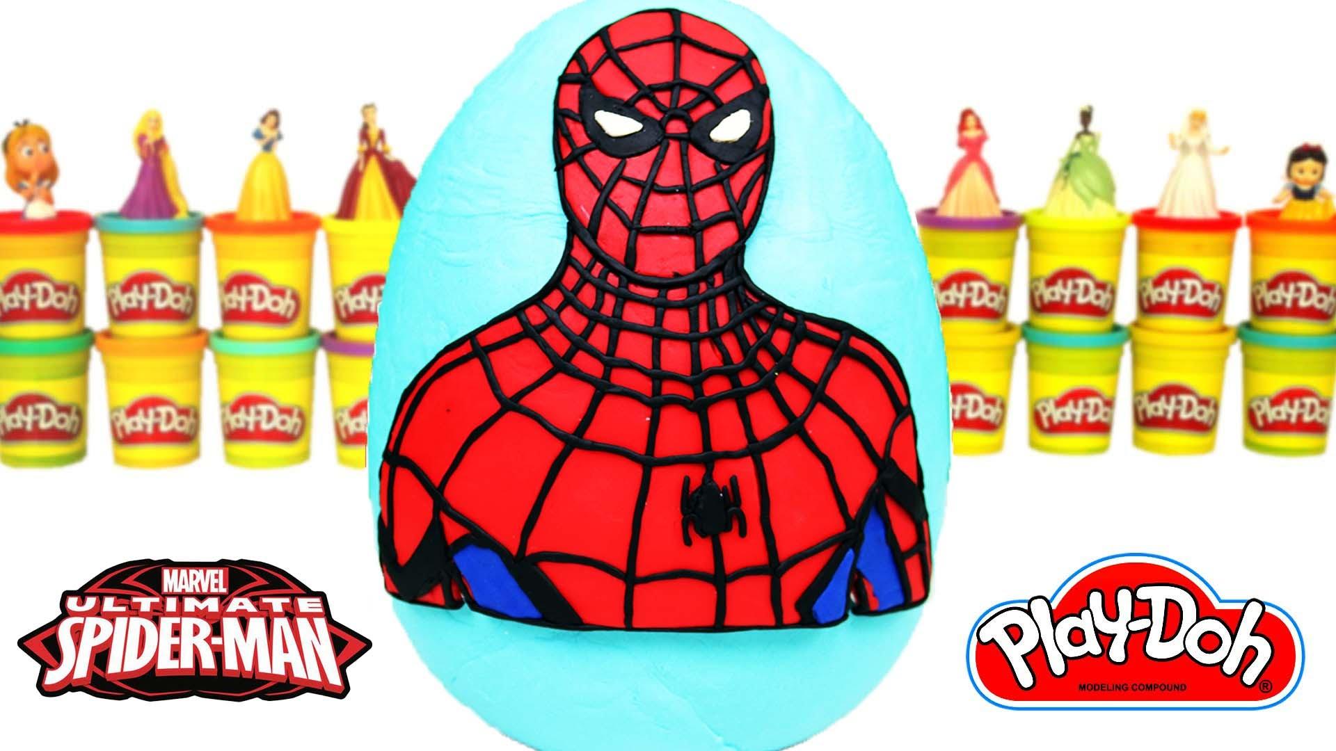 Örümcek Adam Dev Süpriz Yumurta Marvel Avengers Hulk Minions Cicibiciler Transformers Disney