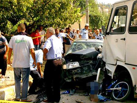 Osmaniyede Kaza 1 Ölü 11 Yaralı