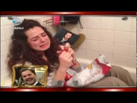 Özge Özpirinç Engin Altan Düzyatan Sevgililer Günü Skeci Beyaz Show 15 Şubat 2013