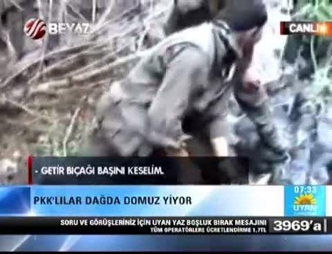 PKKlıların Mağaradaki Yaşamlarıni Izle