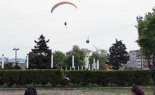 Paraşütle Evlenme Teklifi