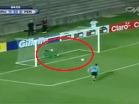 Peru Uruguay Maçındaki Kaçan Pozisyon