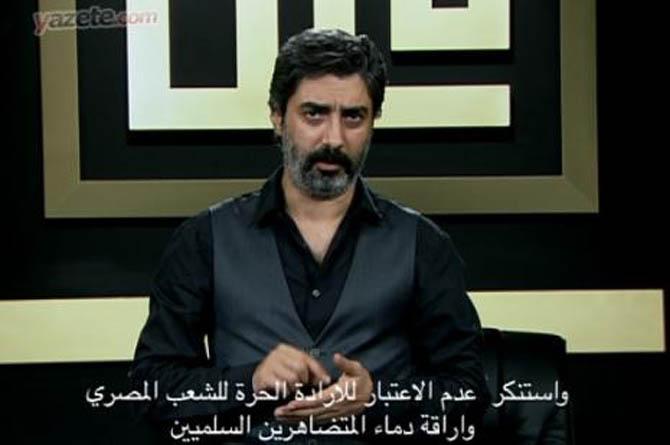 Polat Alemdar Mısırlı Darbecileri Kınayan Arapça Altyazılı Video Yayınladı