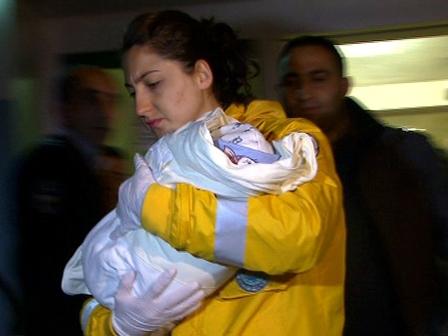 Polis Bebek Kaçıran Zanlıyı Buldu