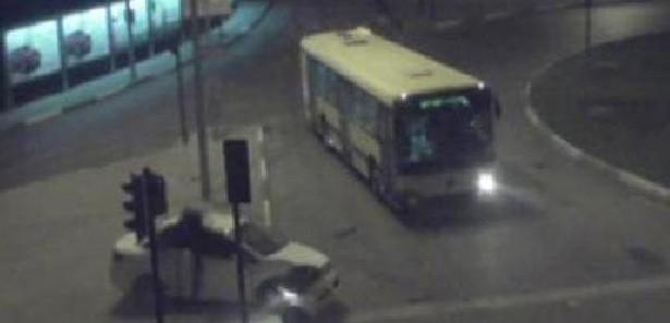 Rizedeki Trafik Kazalarını MOBESE Kamerasından İzle