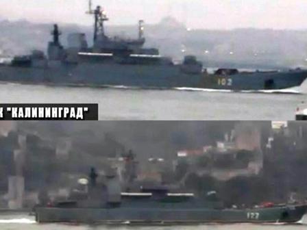 Rus Komandolar Türkiyeden Geçti