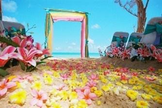 Rüya Gibi Bir Plaj Düğünü