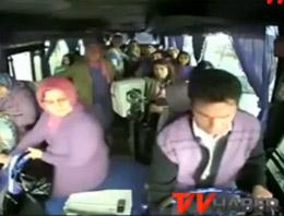 Sakaryada Arızalanan Yolcu Otobüsü