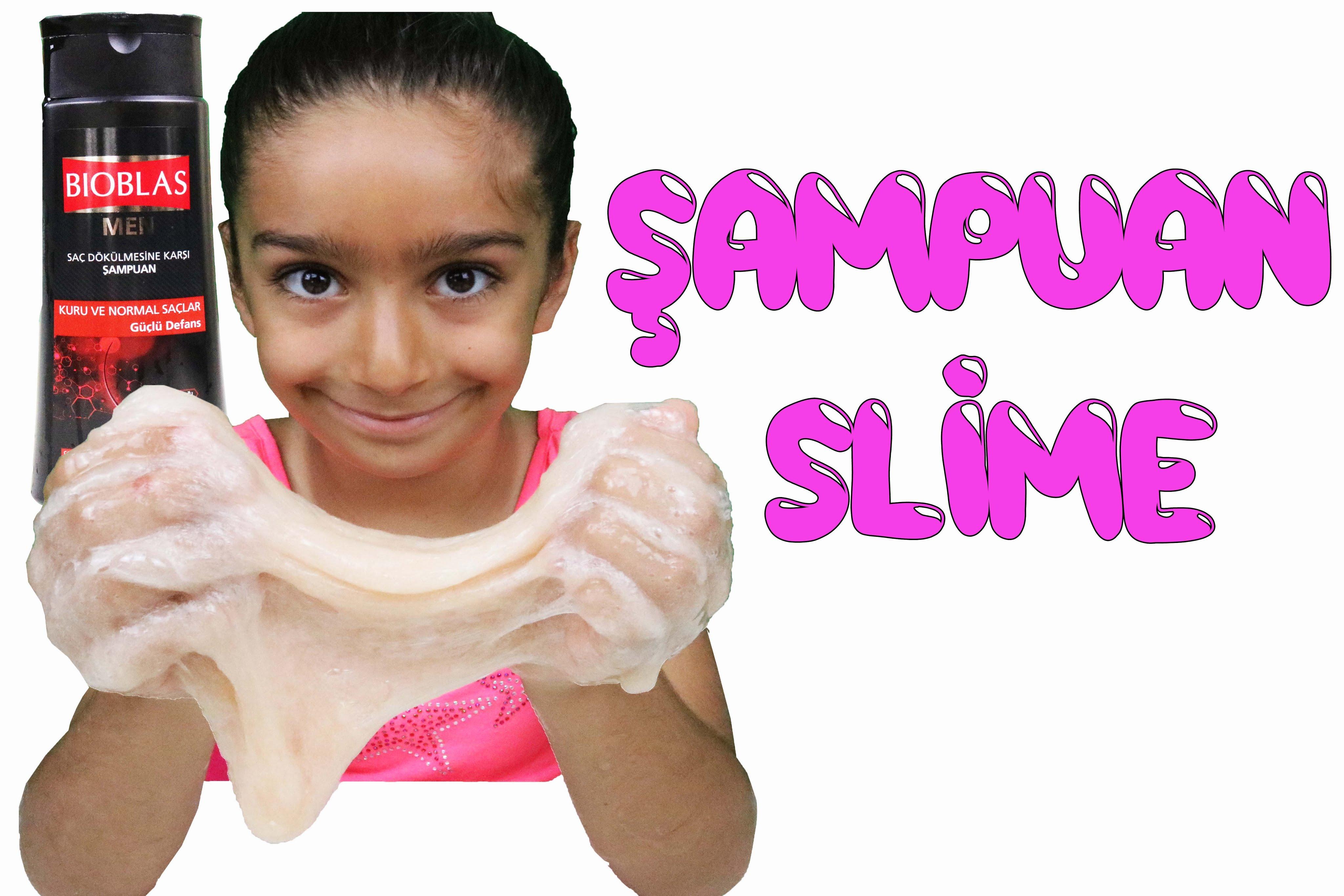 Şampuan Ile Slime Nasıl Yapılır Evde Slime Yapımı